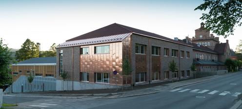 Lillehammer videregående skole, avdeling Sør - Klikk for stort bilde